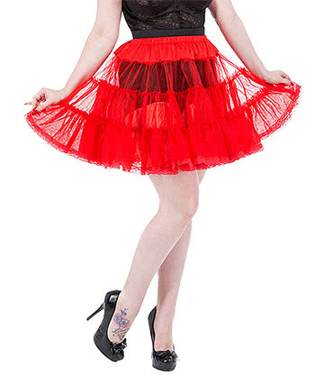 H&R 20 Inch Petticoat (Red)