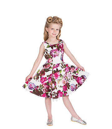 H&R Audrey Floral Kids Dress (Pink)