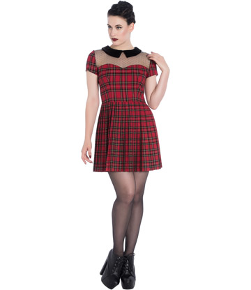 Spin Doctor Lilith Mini Dress (Red)