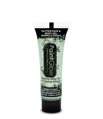 Paintglow Glitter Face & Body Gel (Silver)