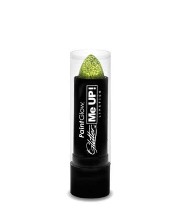 Paintglow Glitter Me Up Lipstick (Gold)