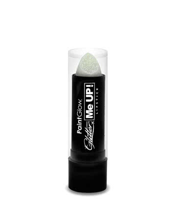 Paintglow Glitter Me Up Lipstick (White)
