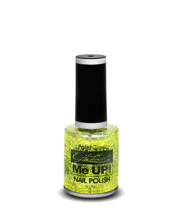 Paintglow Glitter Me Up Nail Polish (Gold)