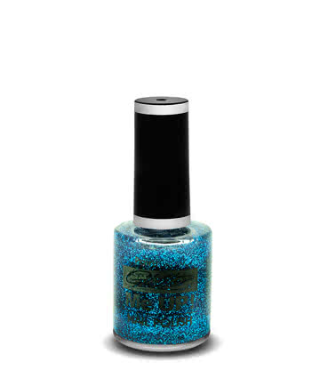 Paintglow Glitter Me Up Nail Polish (Blue)