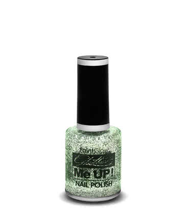 Paintglow Glitter Me Up Nail Polish (Silver)