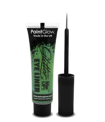 Paintglow Glitter Me Up Eyeliner (Green)