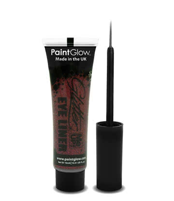 Paintglow Glitter Me Up Eyeliner (Rot)