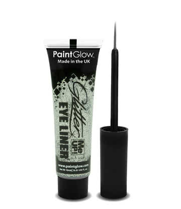 Paintglow Glitter Me Up Eyeliner (Silver)