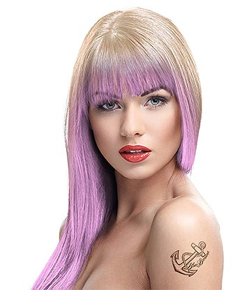 Crazy Color Temporary Pastel Hair Spray 250ml (Marshmallow)