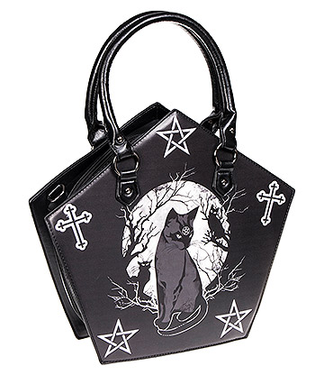 Banned Hecate Pentagon Bag (Black)
