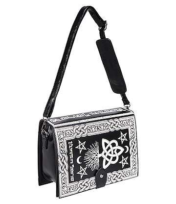 Banned Hope & Misery Handbag (Black)