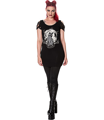 Banned Eternity Dress (Black)