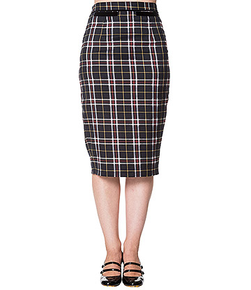Banned Bliss Tartan Skirt (Multicoloured)