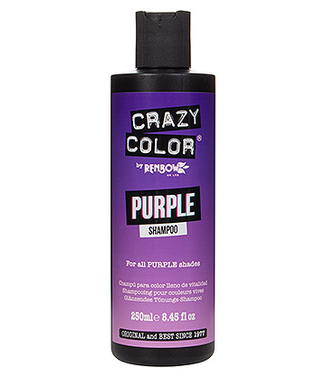 Crazy Color Shampoo For Coloured Hair 250ml (Purple)