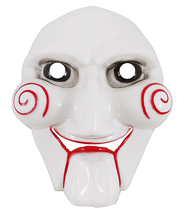 Blue Banana Jigsaw Mask (White)