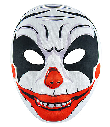 Blue Banana Scary Clown Mask (Multicoloured)