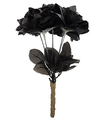 Blue Banana Roses (Black)