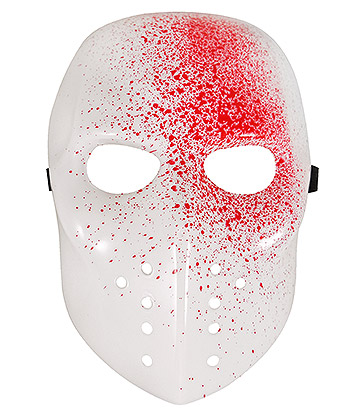 Blue Banana Blooded Mask (White/Red)