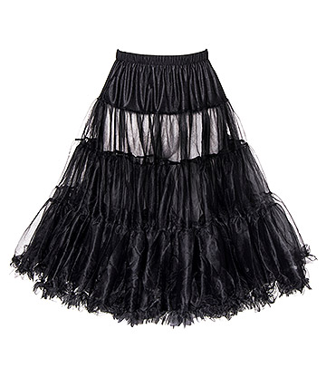 Bleeding Heart Petticoat (Black)