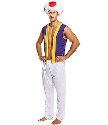 Blue Banana Mushroom Fancy Dress Costume (Multicoloured)