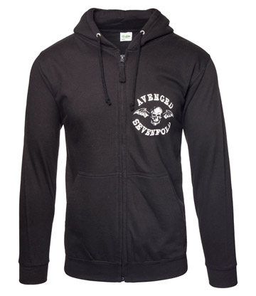 Official Avenged Sevenfold Flourished Logo Hoodie (Black)