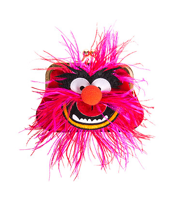 Irregular Choice Muppets Louder! Purse (Red)