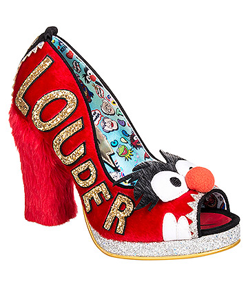 Irregular Choice Muppets Louder! Louder! Court Shoes (Red)