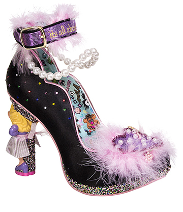 Irregular Choice Muppets All About Moi Court Shoes (Black)