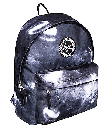 Hype Space Backpack (Black/White)