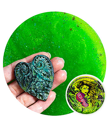 Hex Bomb Bath Bomb (Serpentine)