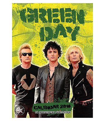 Green Day Unofficial 2018 Calendar