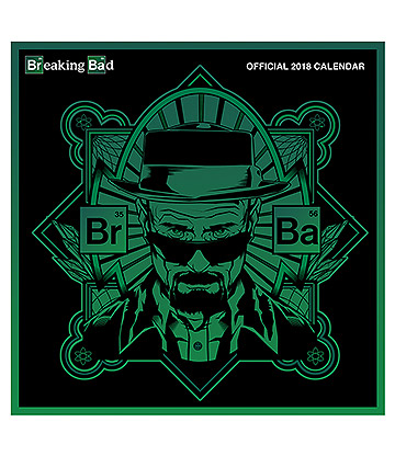 Official Breaking Bad 2018 Calendar