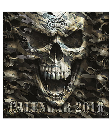 Official Spiral Direct 2018 Calendar