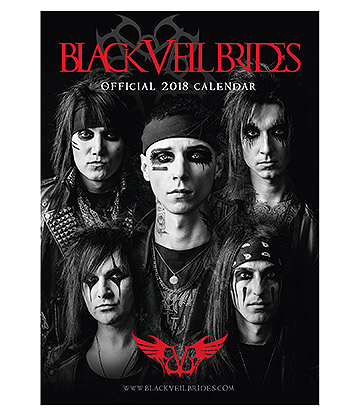 Official Black Veil Brides 2018 Calendar