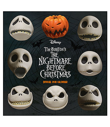Official The Nightmare Before Christmas 2018 Calendar
