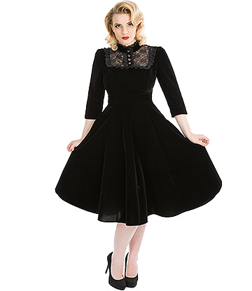 H&R Nightshade Dress (Black)