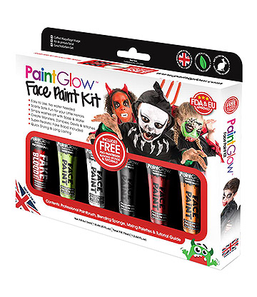 Paintglow Face Paint Kit (Multicoloured)