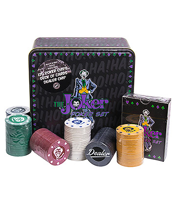 DC Comics The Joker Poker Set (Multicoloured)
