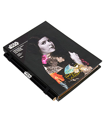 Princess Leia A5 Pocket Notebook & Pencil (Black)