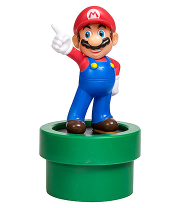 Super Mario Light Up 3D Figure (Multicoloured)