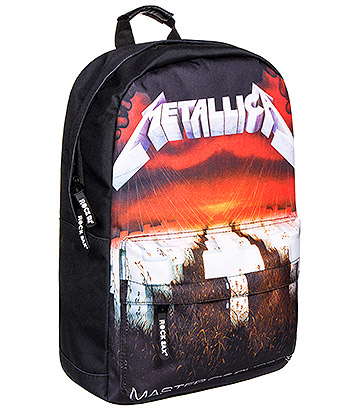 RockSax X Metallica Master Of Puppets Album Backpack (Black)