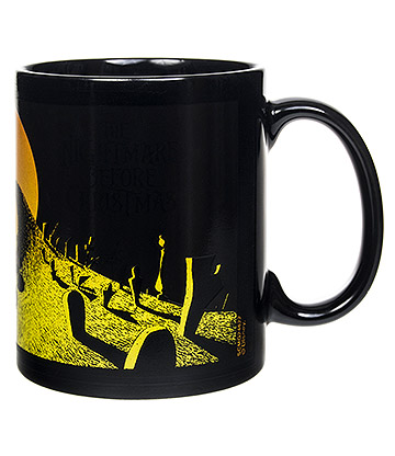 Nightmare Before Christmas Heat Changing Mug (Black)