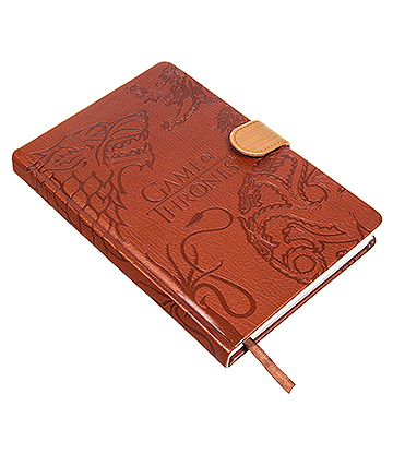 Game Of Thrones House Sigil A5 Notebook (Brown)