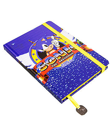 Sonic Game Over A5 Notebook (Blue)