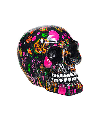 Nemesis Now Viva! Skull Figurine 8cm (Multicoloured)