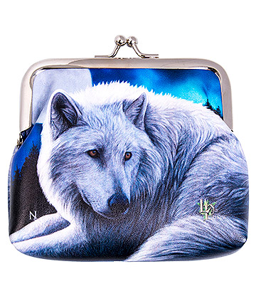 Nemesis Now Guardians Of The North Wolf Coin Purse (Blue)