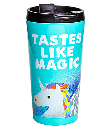 Jolly Awesome Tastes Like Magic Reisebecher (Türkis)
