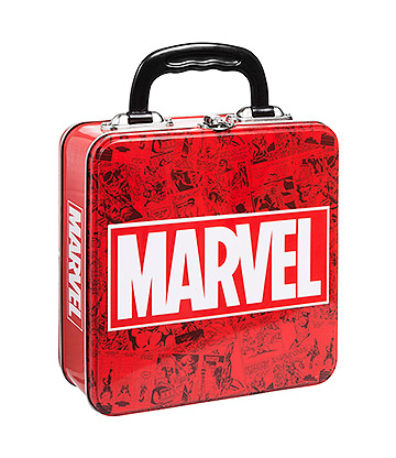 Marvel Tin Tote (Red/White)