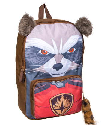 Marvel Guardians Of The Galaxy Rocket Raccoon Backpack (Brown)