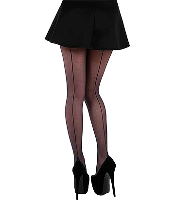Pamela Mann Jive Seamed Tights UK 8-14